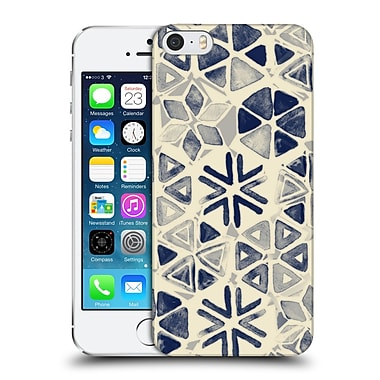 Official Micklyn Le Feuvre Patterns 3 Hand Painted Triangle And Honeycomb Ink Hard Back Case For Apple Iphone 5 / 5S / Se