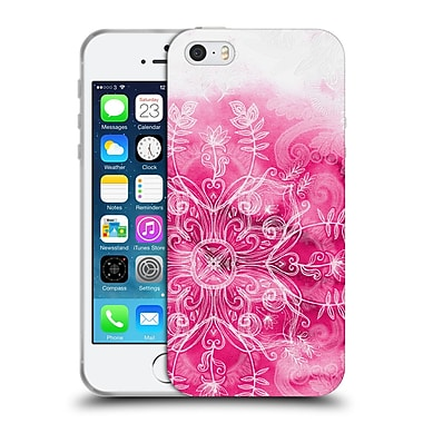 Official Micklyn Le Feuvre Mandala 2 Pink And Patterns Soft Gel Case For Apple Iphone 5 / 5S / Se