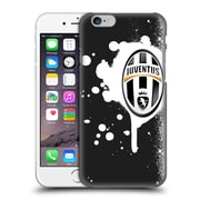 Official Juventus Football Club Lifestyle Splat Black Hard Back Case For Apple Iphone 6 / 6S