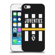Official Juventus Football Club Lifestyle Logo Explosion Black Soft Gel Case For Apple Iphone 5 / 5S / Se