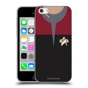 Official Star Trek Uniforms And Badges Ds9 Captain Soft Gel Case For Apple Iphone 5C