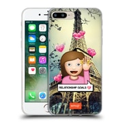 Official Emoji Photo Graphic Relationship Goals Soft Gel Case For Apple Iphone 7 Plus