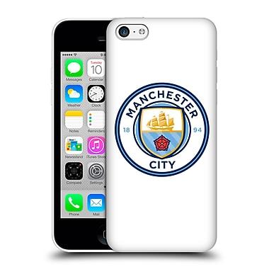 Official Manchester City Man City Fc Badge Plain Full Colour Hard Back Case For Apple Iphone 5C
