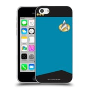 Official Star Trek Uniforms And Badges Tng Commander Soft Gel Case For Apple Iphone 5C