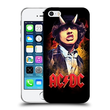 Official Ac/Dc Acdc Solo Angus Young Soft Gel Case For Apple Iphone 5 / 5S / Se