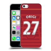 Official Liverpool Football Club Players Home Kit 16/17 Group 2 Origi Soft Gel Case For Apple Iphone 5C