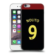 Official Manchester City Man City Fc Away Kit 2016/17 2 Nolito Soft Gel Case For Apple Iphone 6 / 6S