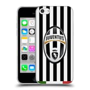 Official Juventus Football Club Crest Italia Stripes Soft Gel Case For Apple Iphone 5C