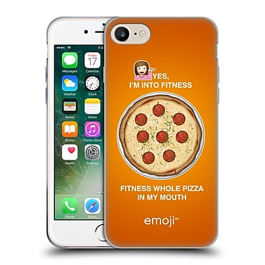 Official Emoji Food Whole Pizza Soft Gel Case For Apple Iphone 7