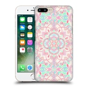 Official Micklyn Le Feuvre Mandala 2 Mint And Blush Pink Painted Hard Back Case For Apple Iphone 7 Plus