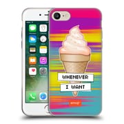 Official Emoji Food Ice Cream Soft Gel Case For Apple Iphone 7