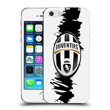 Official Juventus Football Club Crest Slash Soft Gel Case For Apple Iphone 5 / 5S / Se