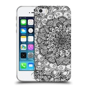 Official Micklyn Le Feuvre Mandala 3 Shades Of Grey Soft Gel Case For Apple Iphone 5 / 5S / Se