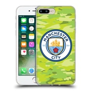 Official Manchester City Man City Fc Badge Camou Goalee Soft Gel Case For Apple Iphone 7 Plus