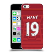 Official Liverpool Football Club Players Home Kit 16/17 Group 2 Mane Soft Gel Case For Apple Iphone 5C