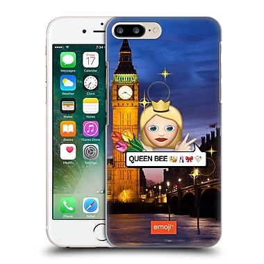 Official Emoji Photo Graphic Queen Hard Back Case For Apple Iphone 7 Plus