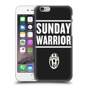 Official Juventus Football Club Lifestyle Sunday Warrior Black Hard Back Case For Apple Iphone 6 / 6S