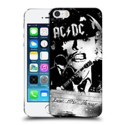 Official Ac/Dc Acdc Lyrics Rock The House Hard Back Case For Apple Iphone 5 / 5S / Se