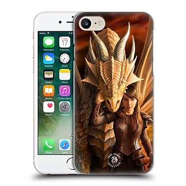 Official Anne Stokes Dragons 2 Inner Strenght Hard Back Case For Apple Iphone 7
