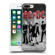 Official Ac/Dc Acdc Group Photo Black And White Studio Hard Back Case For Apple Iphone 7 Plus