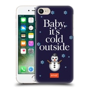 Official Emoji Winter Quotes Cold Outside Hard Back Case For Apple Iphone 7