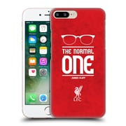 Official Liverpool Football Club Klopp Icons Glasses Grunge Red Hard Back Case For Apple Iphone 7 Plus