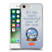Official Emoji Winter Quotes Snow Globe Hard Back Case For Apple Iphone 7