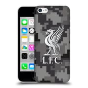 Official Liverpool Football Club Digital Camouflage Away Colours Hard Back Case For Apple Iphone 5C