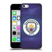 Official Manchester City Man City Fc Badge Geometric Obsidian Full Colour Hard Back Case For Apple Iphone 5C