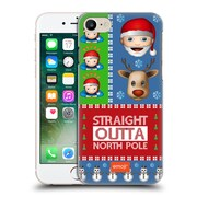 Official Emoji Ugly Christmas North Pole Hard Back Case For Apple Iphone 7