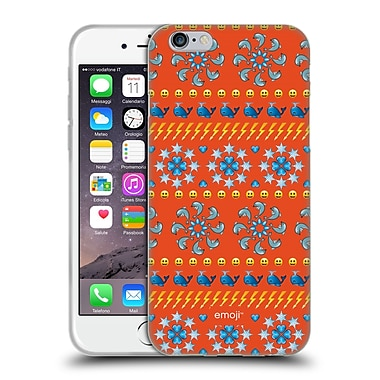 Official Emoji Assorted Prints Dolphins Soft Gel Case For Apple Iphone 6 / 6S