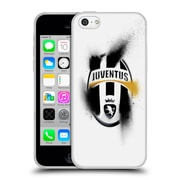 Official Juventus Football Club Crest Overspray Soft Gel Case For Apple Iphone 5C