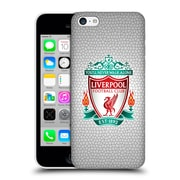 Official Liverpool Football Club Crest 2 White Pixel 1 Hard Back Case For Apple Iphone 5C