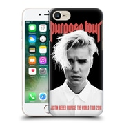 Official Justin Bieber Tour Merchandise Purpose Poster Hard Back Case For Apple Iphone 7