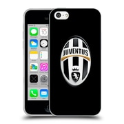Official Juventus Football Club Crest Logo Black Soft Gel Case For Apple Iphone 5C