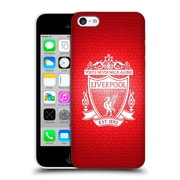 Official Liverpool Football Club Crest 2 Red Pixel 2 Hard Back Case For Apple Iphone 5C