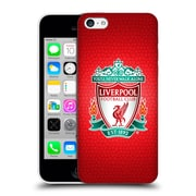 Official Liverpool Football Club Crest 2 Red Pixel 1 Hard Back Case For Apple Iphone 5C