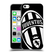 Official Juventus Football Club Crest Mono Logo Soft Gel Case For Apple Iphone 5C