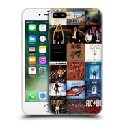 Official Ac/Dc Acdc Collage Album Covers Soft Gel Case For Apple Iphone 7 Plus