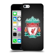 Official Liverpool Football Club Crest 2 Black Pixel 1 Hard Back Case For Apple Iphone 5C