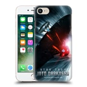 Official Star Trek Posters Into Darkness Xii Starship Warp Chase Hard Back Case For Apple Iphone 7