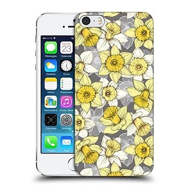 Official Micklyn Le Feuvre Florals Daffodil Daze Hard Back Case For Apple Iphone 5 / 5S / Se