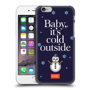 Official Emoji Winter Quotes Cold Outside Hard Back Case For Apple Iphone 6 / 6S