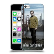 Official Star Trek Characters Into Darkness Xii Captain Kirk Soft Gel Case For Apple Iphone 5C