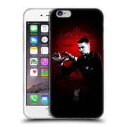 Official Liverpool Football Club Red Pride Mignolet Soft Gel Case For Apple Iphone 6 / 6S
