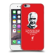 Official Liverpool Football Club Bill Shankly No Second Red Soft Gel Case For Apple Iphone 6 / 6S
