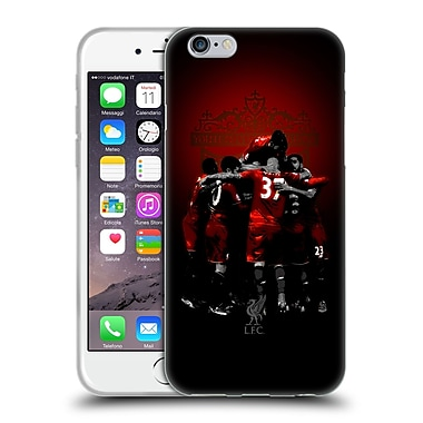 Official Liverpool Football Club Red Pride Team Soft Gel Case For Apple Iphone 6 / 6S
