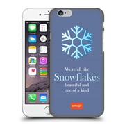 Official Emoji Winter Quotes Snowflakes Hard Back Case For Apple Iphone 6 / 6S