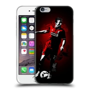 Official Liverpool Football Club Red Pride Lucas Soft Gel Case For Apple Iphone 6 / 6S