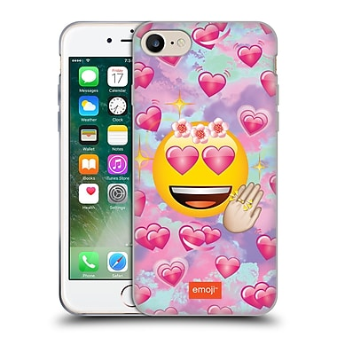 Official Emoji Smileys In Love Soft Gel Case For Apple Iphone 7